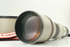 【Near Mint】 Canon New FD 500mm f/4.5 L Telephoto Lens w/ Hood & Strap From Japan
