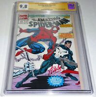 Amazing Spider-Man #358  Punisher & Nova CGC SS 9.8 Signature Autograph STAN LEE