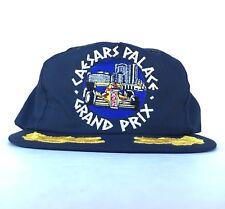 Vtg Caesars Palace Grand Prim Embroidered Baseball Cap Hat SnapBack Men USA Made