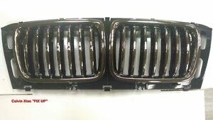 Genuine BMW E34 Sedan Wagon Front Bumper License Plate Grille OEM 51118148820