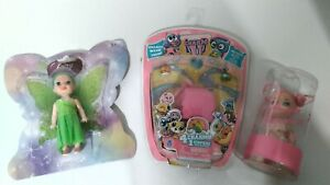 Charm U Series w/ Lot of Girl Mixed Toys Figures Brand New. Great Gift!