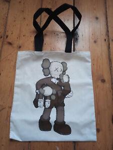 Kaws Tote Bag Clean Slate Tote Bag YSP Original Fake print unsigned shirt