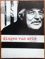 Arie Jansma - Dingen van - Kho Liang Ie - Wim Crouwel - Stedelijk museum - 1969