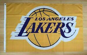 Los Angeles Lakers 3x5 ft Flag NBA LA