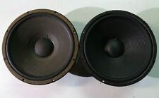 """1 Pair (2) *As Is/Parts Only* McCauley 6000 6142 15"""" Driver Woofer"""