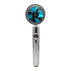 Pommeau de douche à économie d'eau Rotation de 360 degrés avec Petit Ventilateur