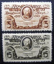 Russia 1925 326-327 MNH OG Russian Lomonosov Proof/Essay Set $600.00!!