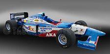 1997 Benetton B197 Formula One F1  Vintage Classic Race Car Photo CA-1114