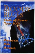 The Moody Blues Hall Of Fame Tour 2001 All Access Arena Concert Poster