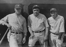 Babe Ruth Lou Gehrig PHOTO New York Yankees 1927 Tony Lazzeri