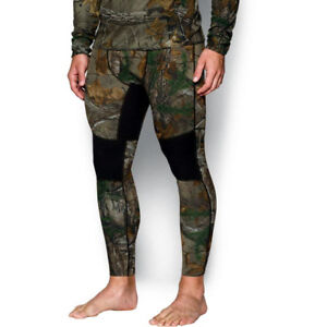 UNDER ARMOUR UA REVERSIBLE WOOL BASE LEGGINGS HUNTING CAMO 3XL 1297425-946 $99