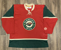 Minnesota Wild Koho Mens XL NHL Hockey Jersey Early 2000s Euc