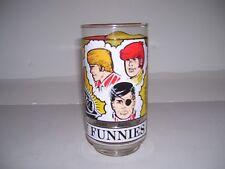 Vtg 1976 Brenda Starr The Sunday Funnies Glass / Tumbler Dale Messick New !