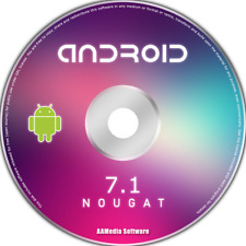 ANDROID 7.1 Nougat 64bit for PC Bootable DVD Rom Operating System