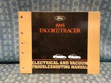 1995 Ford Escort & Mercury Tracer OEM Electrical & Troubleshooting Manual