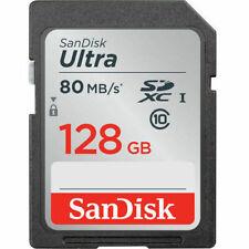 Cartes mémoire SanDisk SDXC pour appareil photo et caméscope, 128 Go