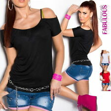 Regular Solid Clubwear Off-Shoulder Tops & Blouses for Women