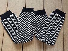 Leg warmers, Knitted Leg warmers, Socks, Christmas Gift - Chevron Pattern