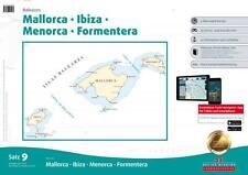 Delius Klasing Seekarten Satz 9 (2020/2021) Balearen Mallorca Ibiza Menorca