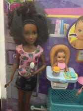 Barbie Skipper Babysitters Inc AFRICAN AMERICAN 2017 Doll Baby Chair