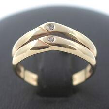 Brillant Ring 585 Gold 14 Karat Diamant Gelbgold Wert 240,-