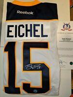 NHL - Jack Eichel - Sabres - Signed Auto Jersey COA AJ's