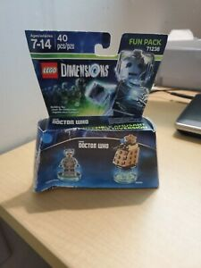Lego Dimensions Doctor Who Cyberman & Dalek #71238 New Damaged Factory Sealed