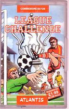 League Challenge (Atlantis) Commodore 64 - GC & Complete