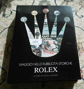 Buch book Viaggio Nelle Pubblicita Storiche - Rolex -