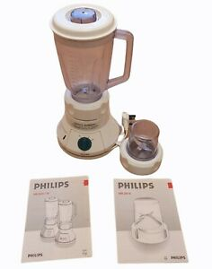 philips tested working food blender grinder attachment instructions white hr2810