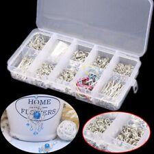 610pcs Jewelry Making Tool Kit Handmade DIY Accessories Head Chain Beads Box *#