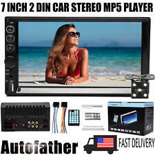 7inch Car Stereo Radio For Honda Accord Bluetooth 2 Din Touch Screen Free Camera