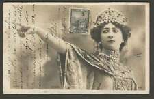 R Photo Studio La Bella Otero Spain Opera Dancer 1903 Postcard L@@K