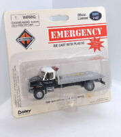 Boley Ho 1/87 Police Flatbed Tow Truck International MOC Nice! Emergency 4131-37