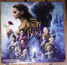 Sealed Beauty and the Beast 16 Month 2018 Calendar Bonus Downloadable Wallpaper
