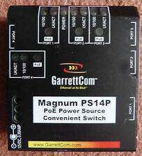 Garrett Magnum PS14P fonte di alimentazione PoE comodo interruttore 02-01345Z REV G