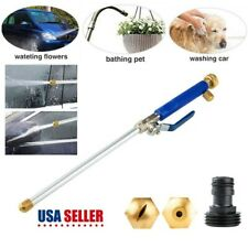 Hydro Jet High Pressure Power Washer Water Spray Gun Nozzle Wand Car Cleaning US