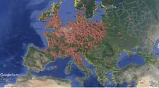 Lost Place Karte Map - Europa und Amerika mit 12500 Koordinaten