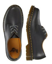 New Dr. Martens Men's 1461 Clove Black Smooth English Leather Boot Shoes