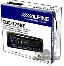 Alpine CDE-175BT New Single-DIN CD Car Digital Audio Stereo w/Bluetooth/USB/MP3