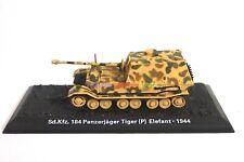 1/72 Diecast Tank German Panzerjager Sd.Kfz.184 Elefant 1944 WWII Military Model