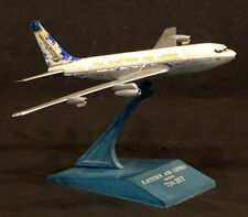 1960's Raise Up BOEING 720 Vintage EASTERN AIRLINES Airplane DESK MODEL Plane
