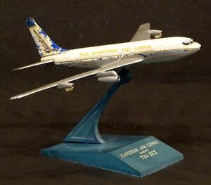 1960's Raise Up BOEING 720 Vintage EASTERN AIRLINES Airplane DESK MODEL Plane