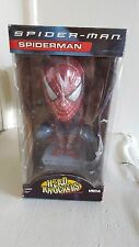 2002 Spider Man Handpainted Marvel Bobble Head Official Movie Merchandise NECA