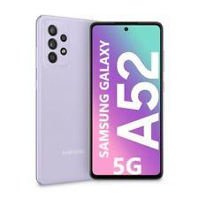 "Cellulare Smartphone Samsung Galaxy A52 5G 6,5"" 6+128GB Dual Sim Violet SM-A526"