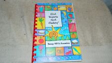 GIRL SCOUTS GET COOKIN' TROOP 931 HORSEHEADS NY COOKBOOK VERY RARE FREE USA SHIP
