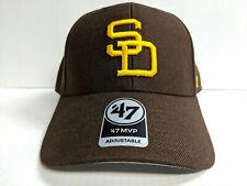 San Diego Padres 47 Brand Cap Adjustable Brown Cooperstown MVP Hat MLB