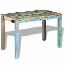 vidaXL 243451 - Tavolo da Pranzo in Legno Massello 115 x 60 x 76 cm