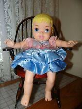 "12"" Tollytots my first Disney Princess baby Cinderella cloth body"