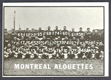 1961 TOPPS CFL FOOTBALL 73 MONTREAL ALOUETTES TEAM NM